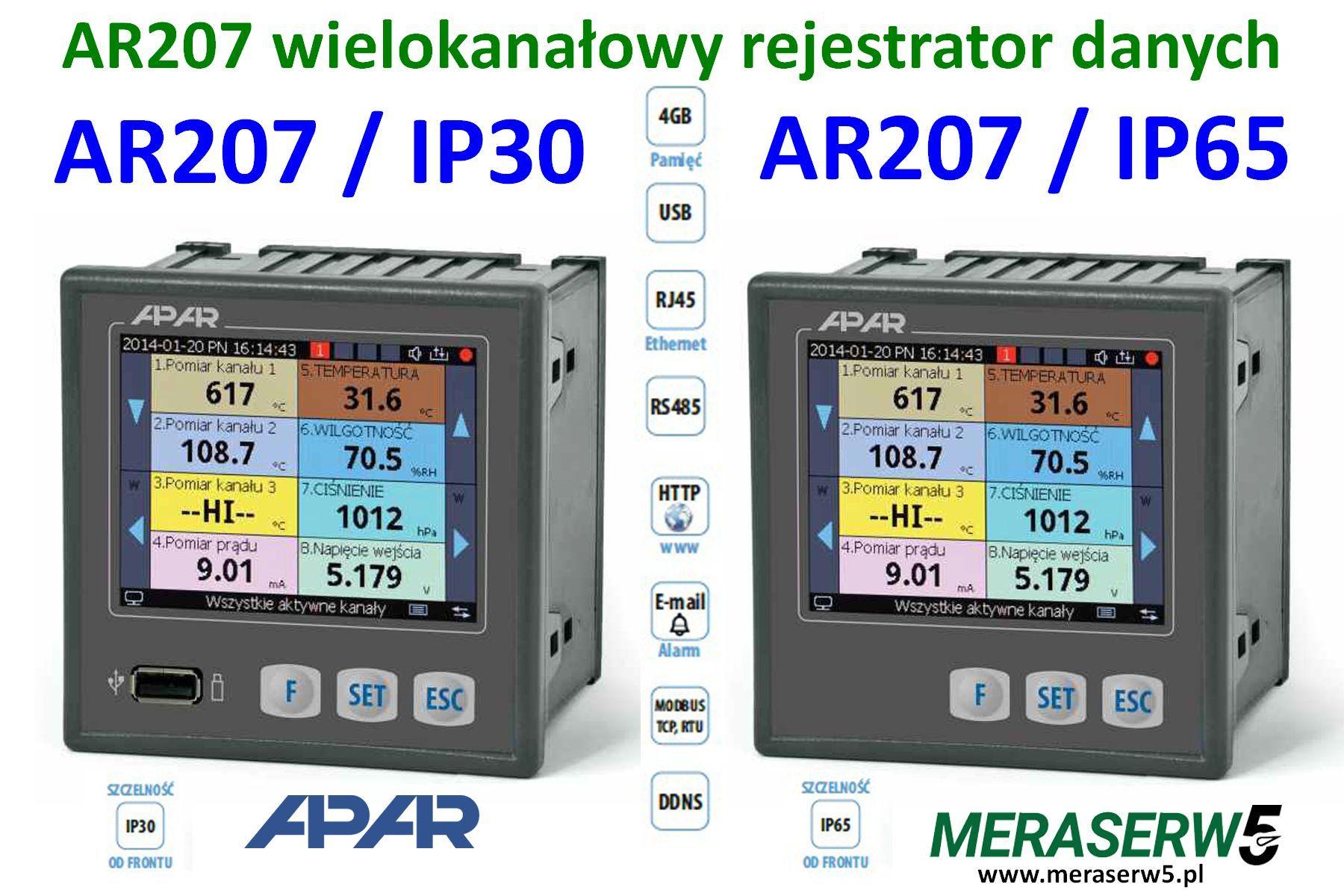 AR207 down