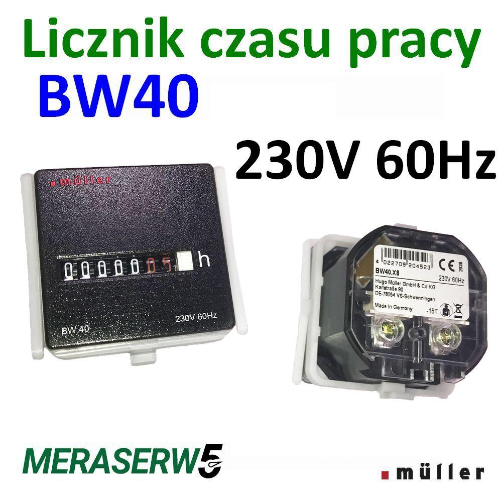 BW40 230V 60Hz down
