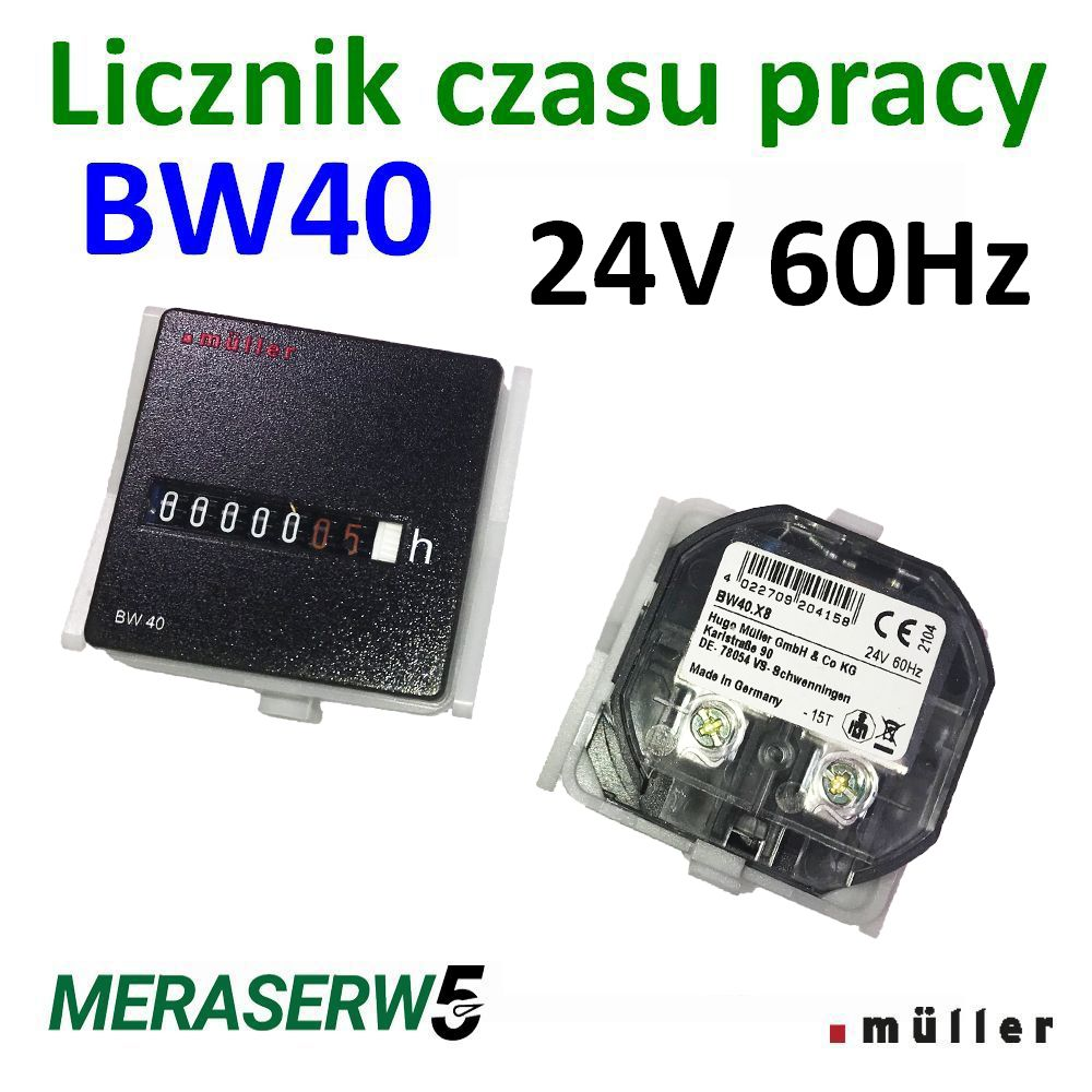 BW40 24V 60Hz down