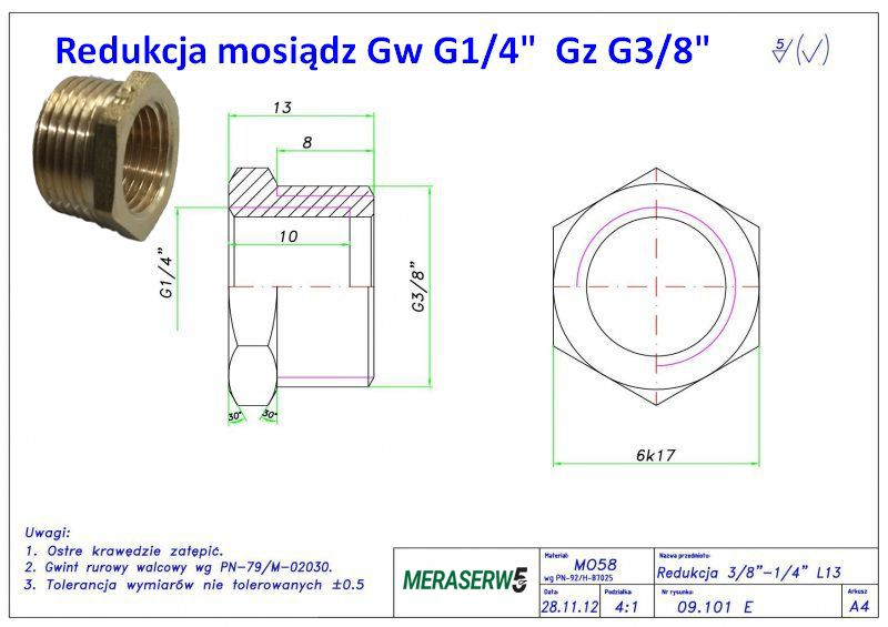 G14 G38 rysunek