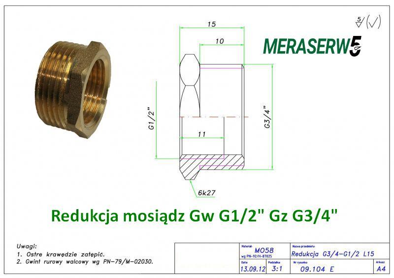 Redukcja G12 G34