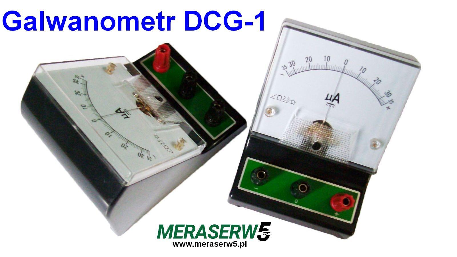 Galwanometr DCG1