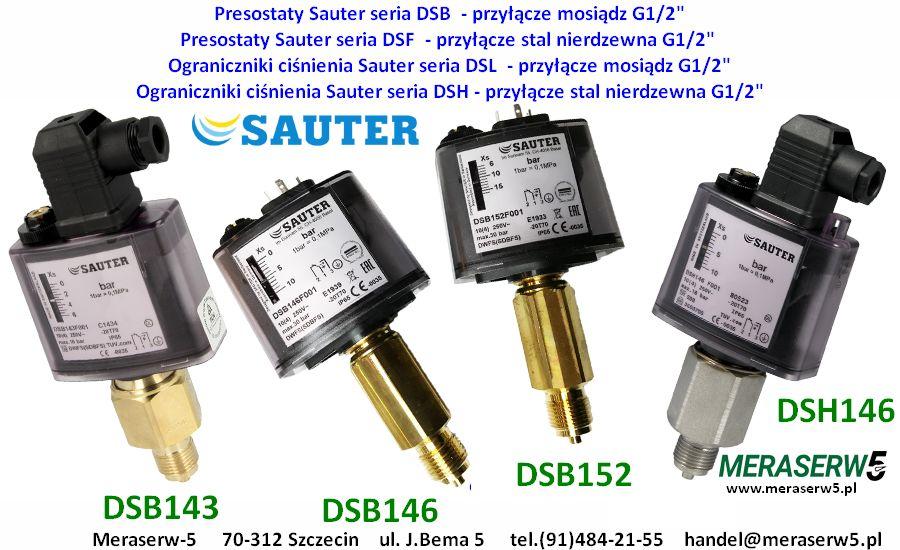 Sauter DSH DSB DSF down