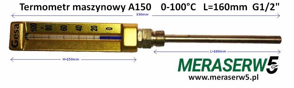 Gesa A150 0 100 R160 down