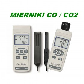 mierniki CO CO2